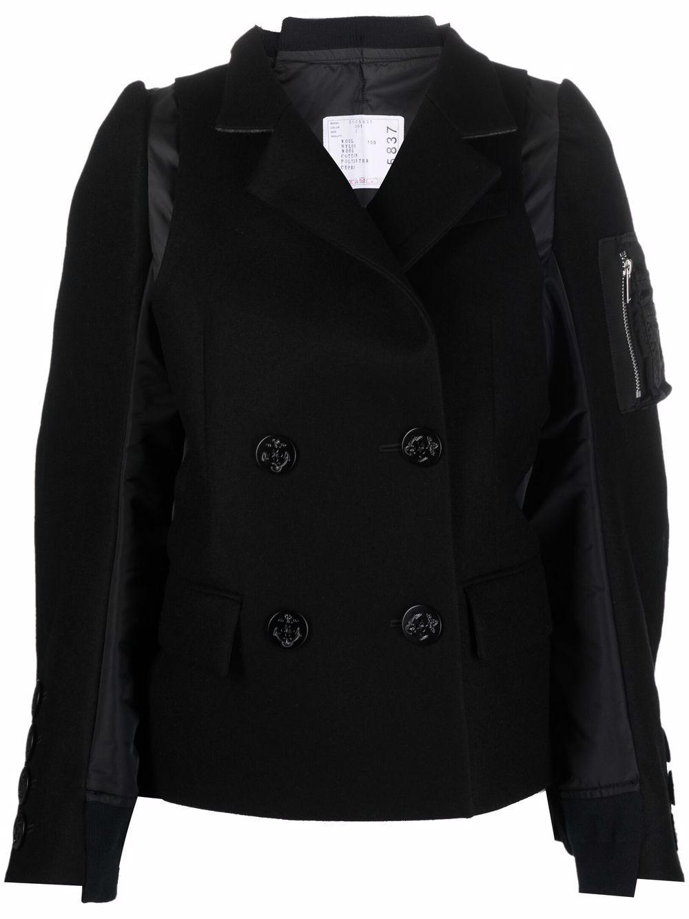 <p class='small-title'>SACAI</p>Panelled Jacket