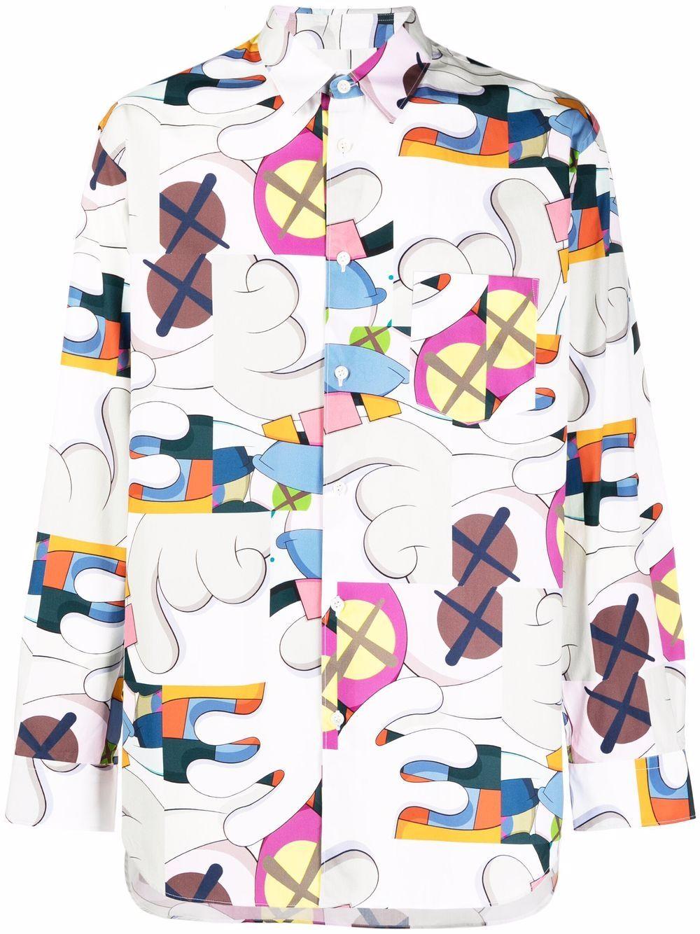 <p class='small-title'>COMME DES GARçONS SHIRT</p>Comme Des Garçons x Kaws Shirt