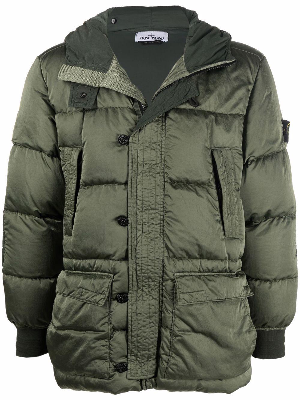 <p class='small-title'>STONE ISLAND</p>Puffer Jacket