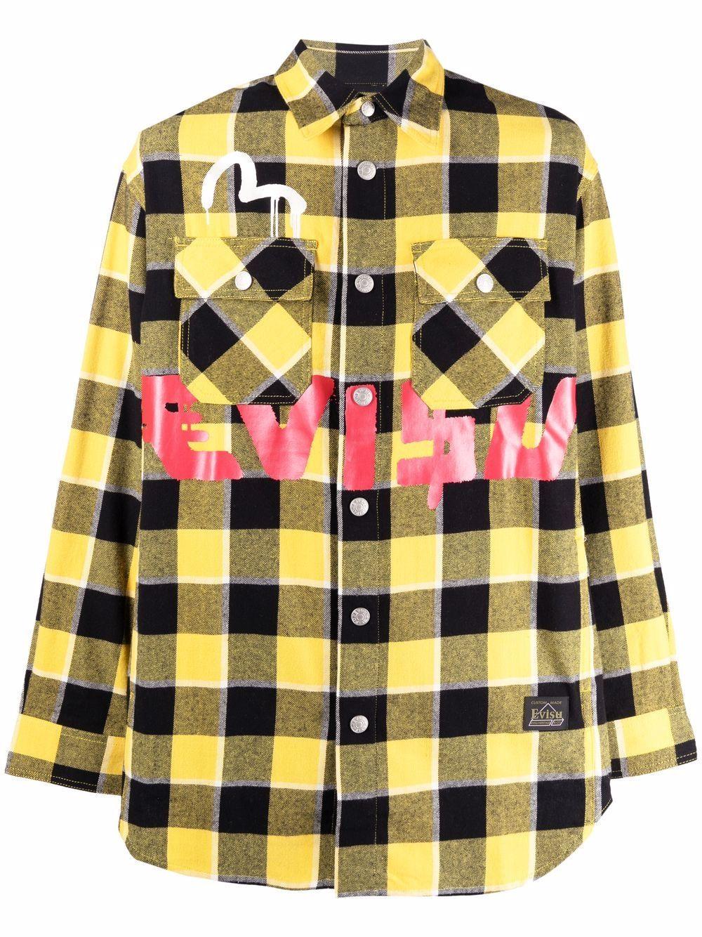 <p class='small-title'>EVISU</p>Check Shirt