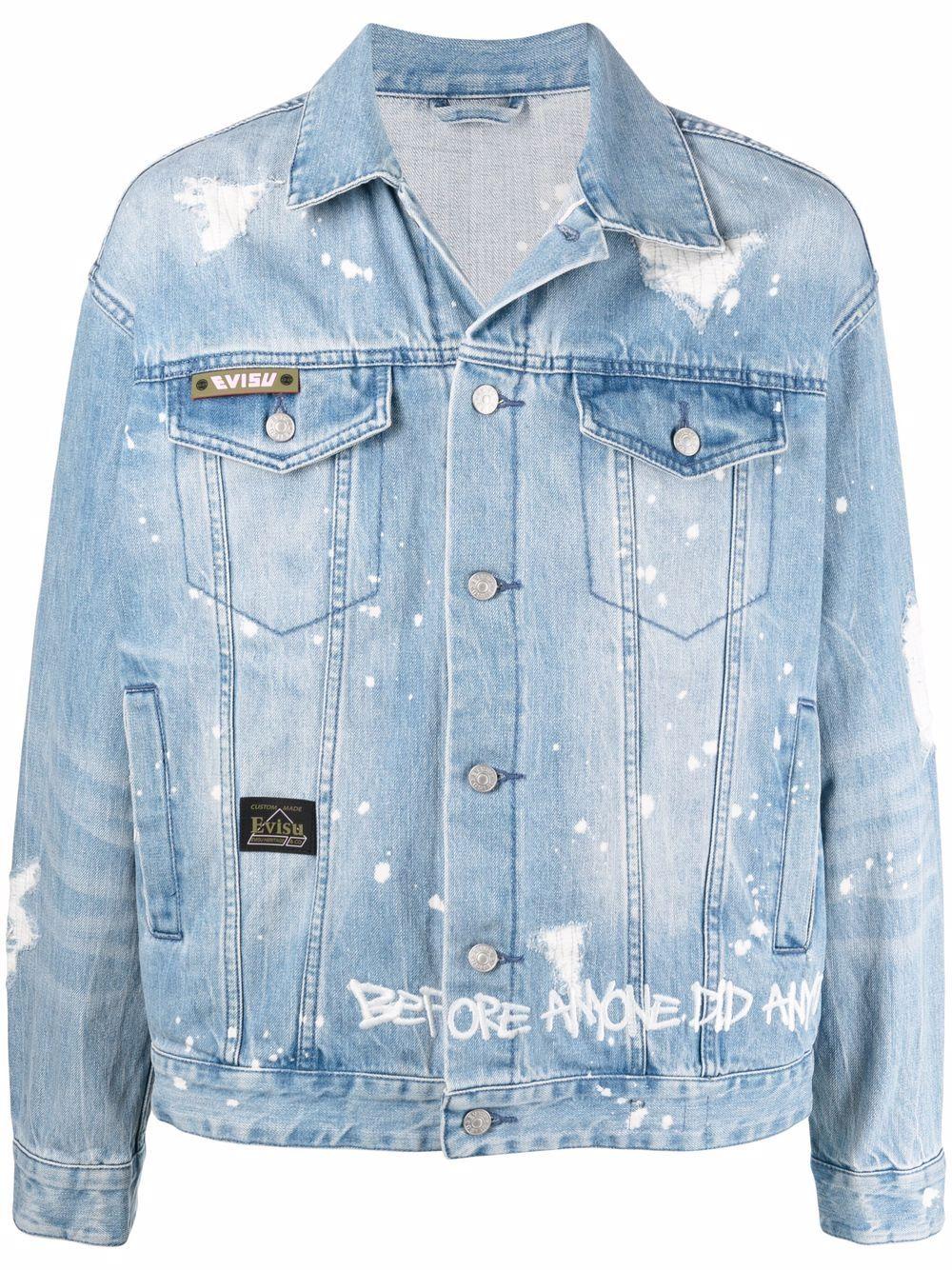 <p class='small-title'>EVISU</p>Denim Jacket