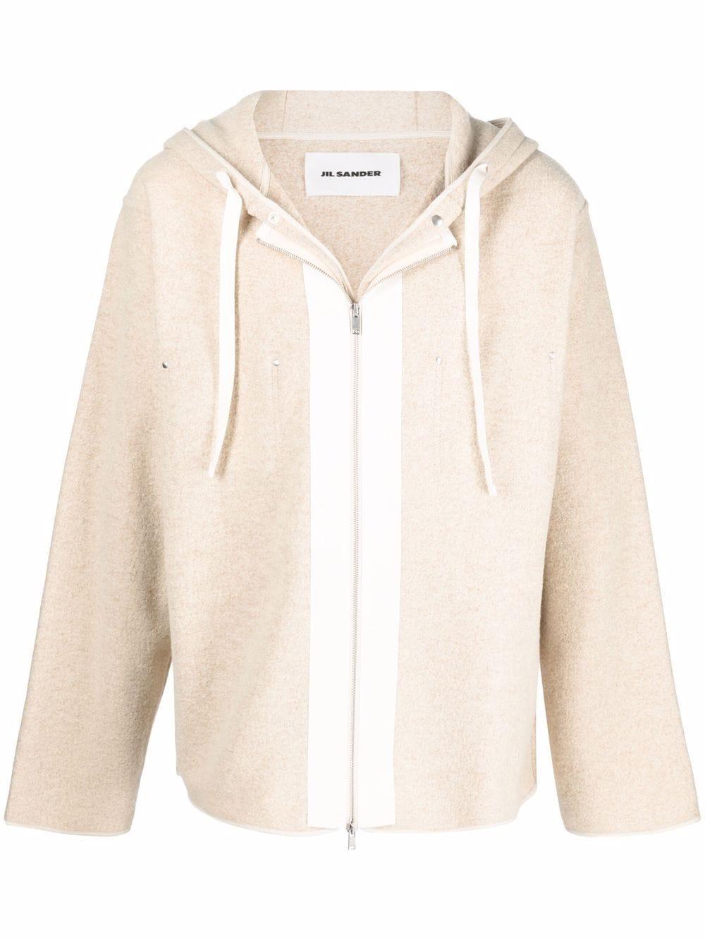 <p class='small-title'>JIL SANDER</p>Hooded Jacket