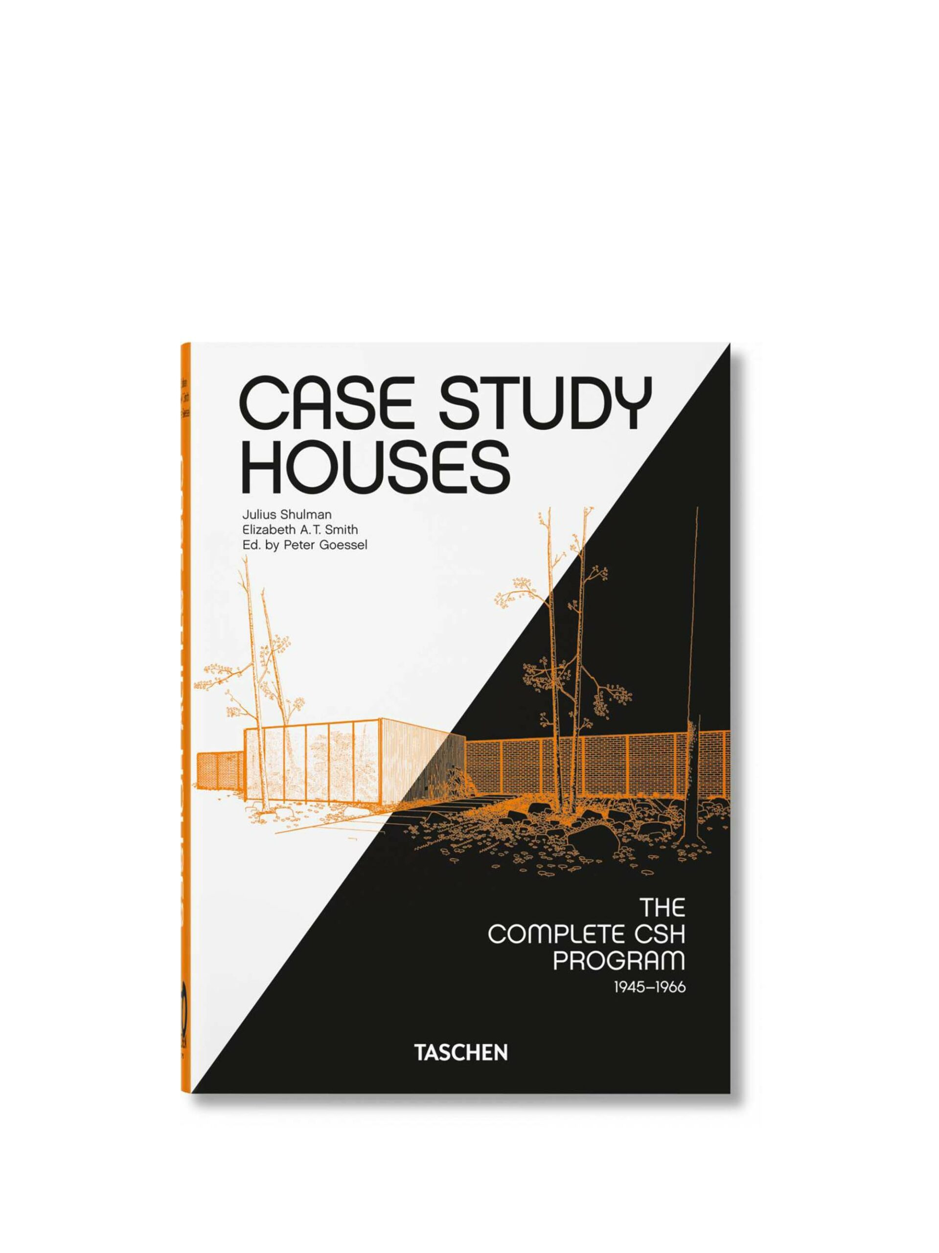 <p class='small-title'>TASCHEN</p>Case Study Houses. The Complete CSH Program 1945-1966. 40th Ed.