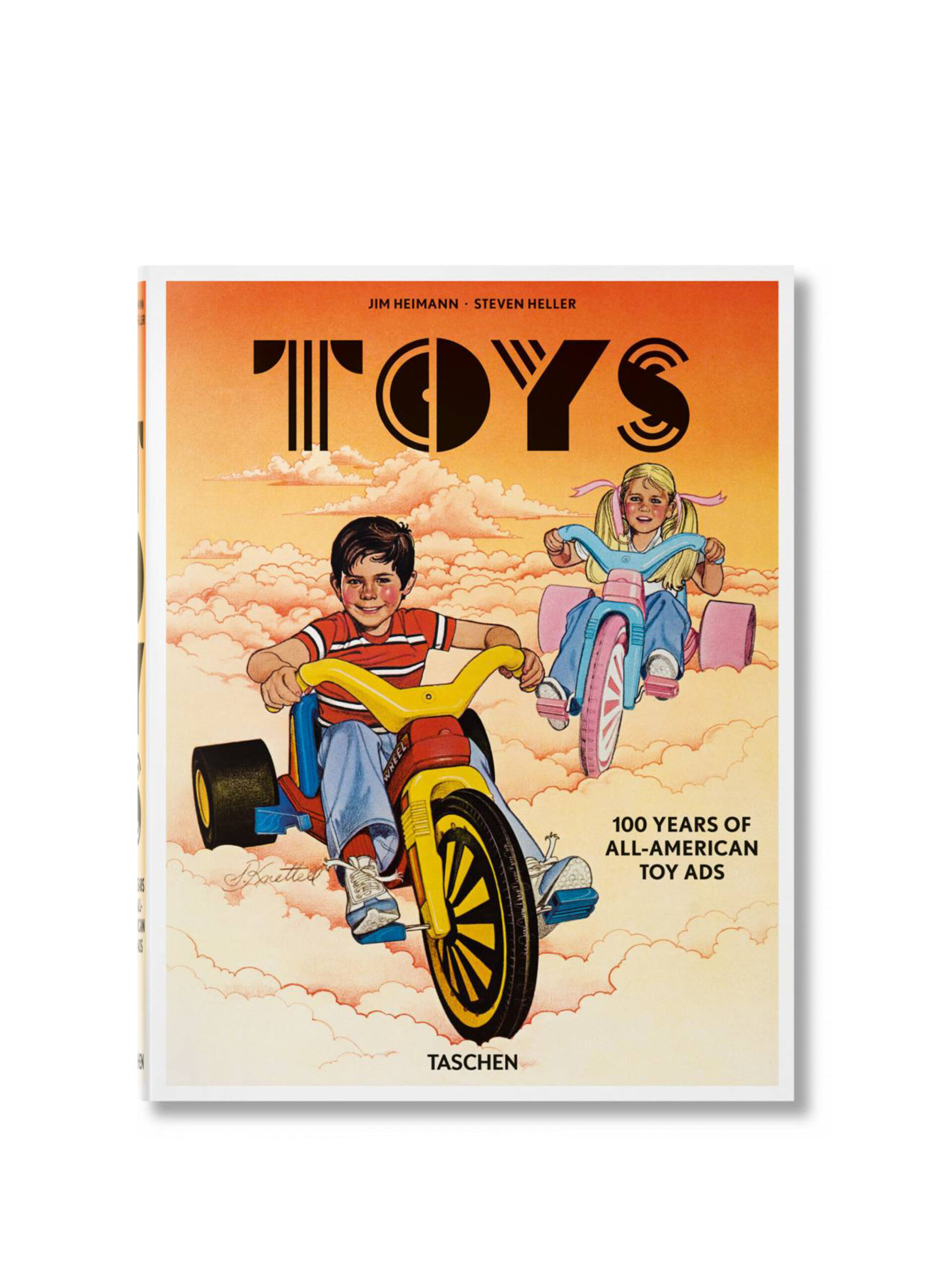 <p class='small-title'>TASCHEN</p>Toys. 100 Years of All-American Toy Ads