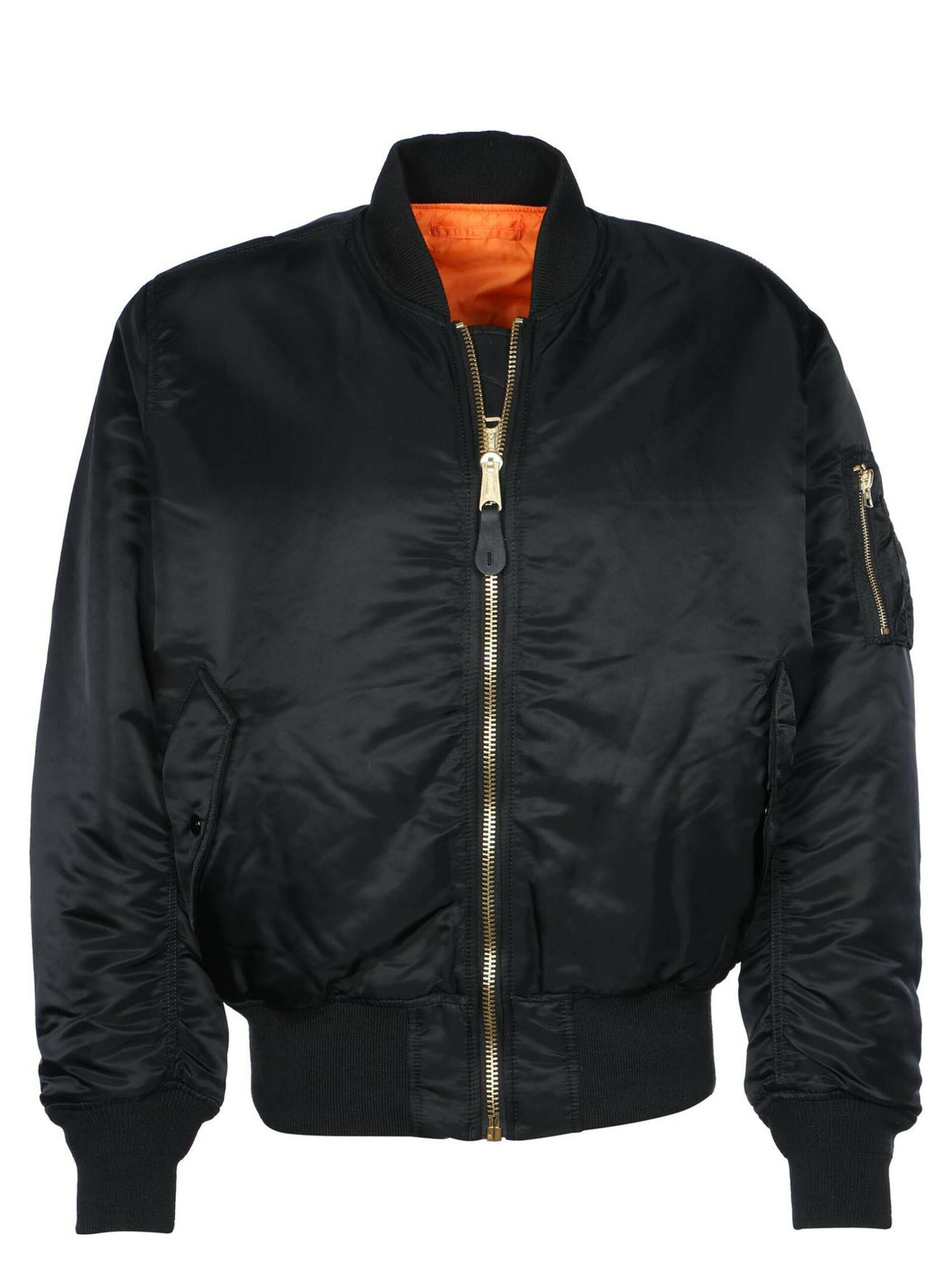 <p class='small-title'>ALPHA INDUSTRIES</p>Bomber Black