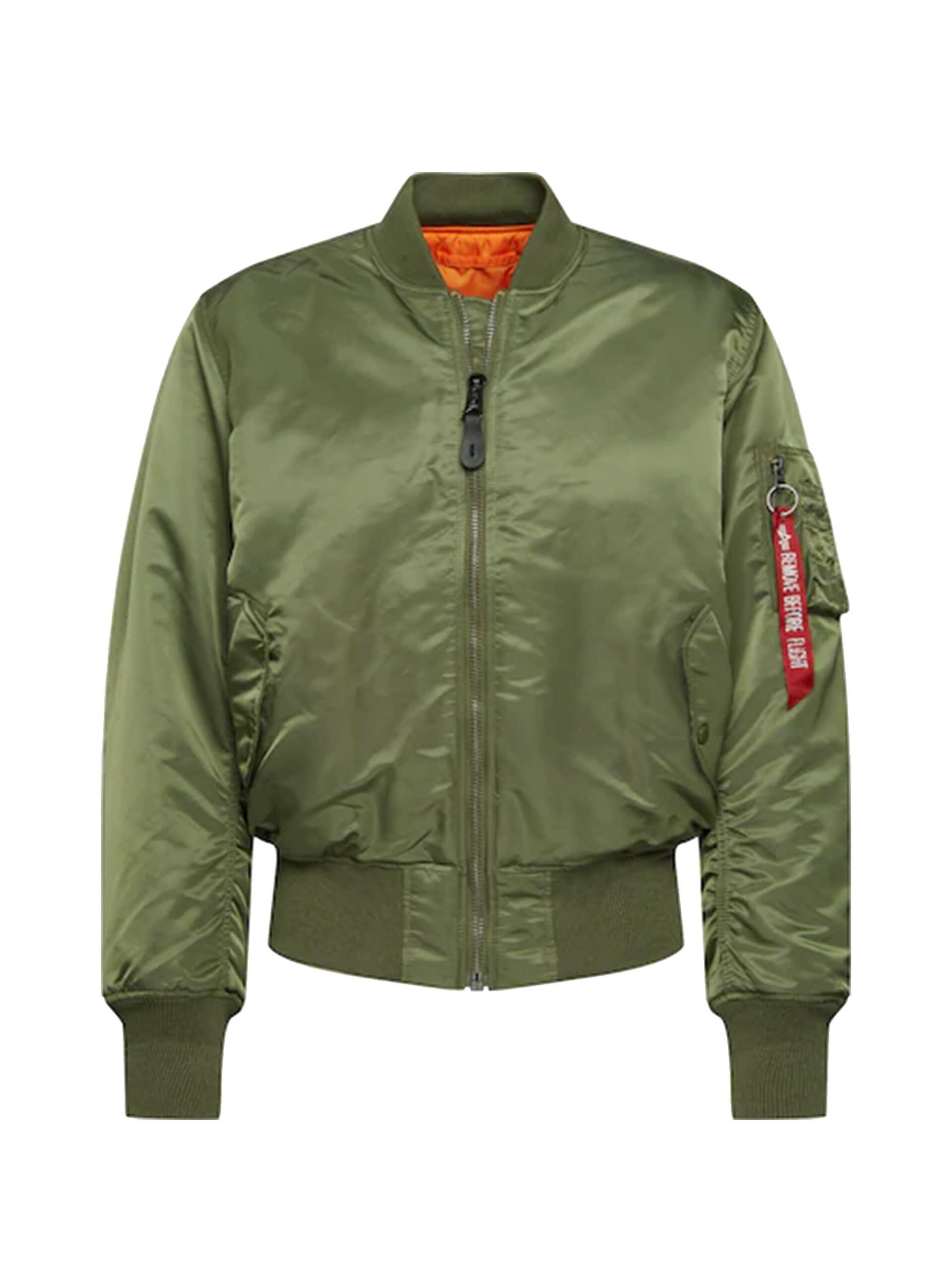 <p class='small-title'>ALPHA INDUSTRIES</p>Bomber Sage Green