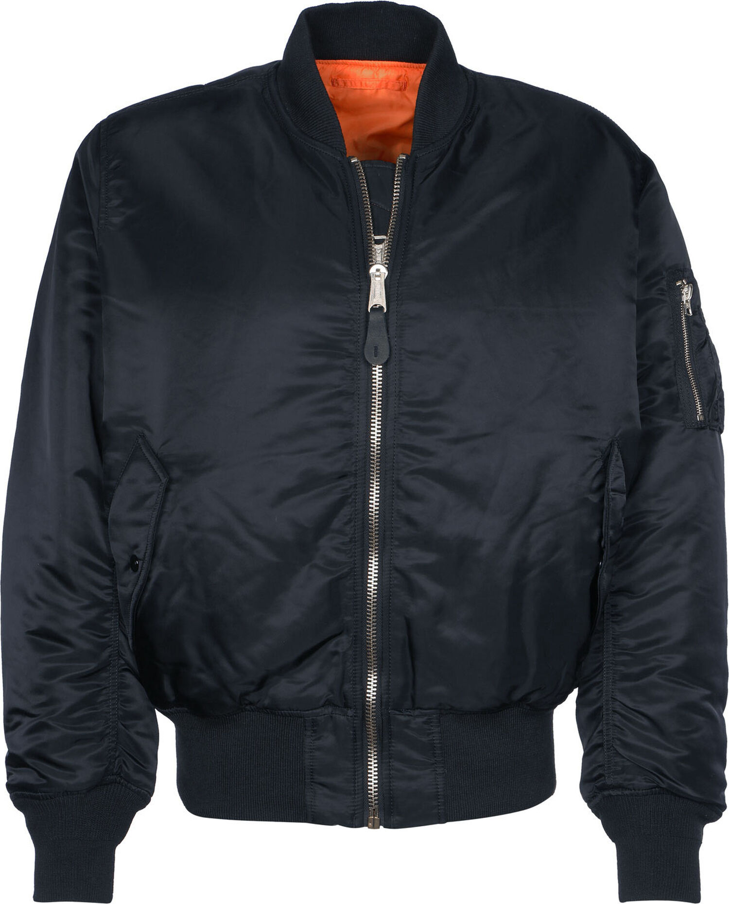 <p class='small-title'>ALPHA INDUSTRIES</p>Bomber Rep Blue