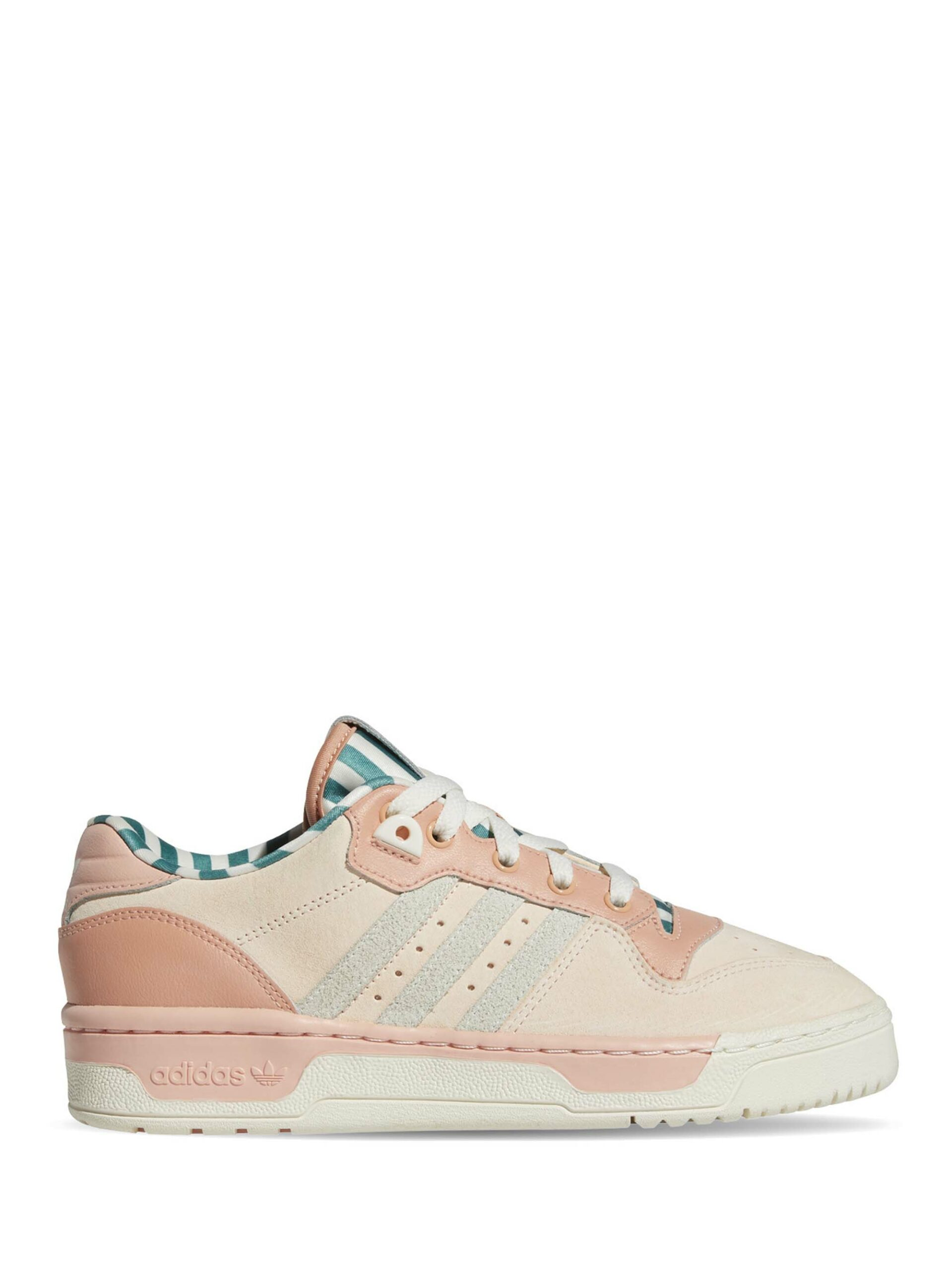 <p class='small-title'>ADIDAS ORIGINAL</p>ADIDAS RIVALRY LOW Pink