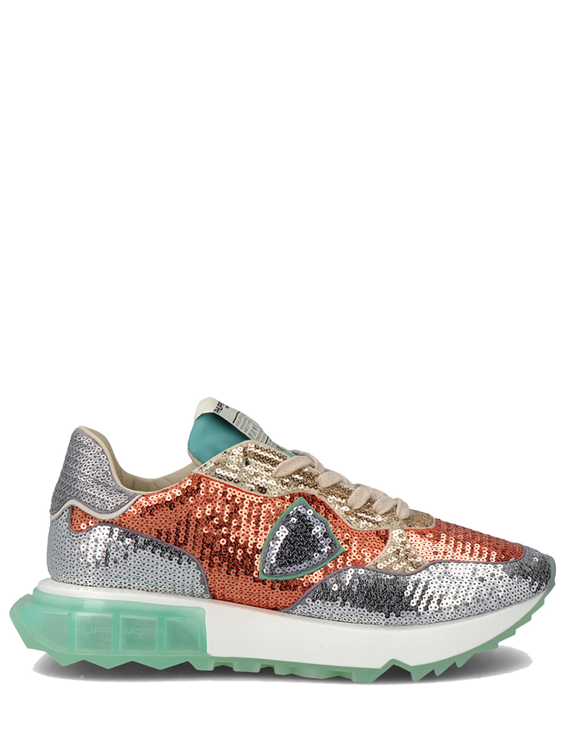 """<p class='small-title'>PHILIPPE MODEL</p>"""" LA RUE """"  LUMIERE Sneakers"""