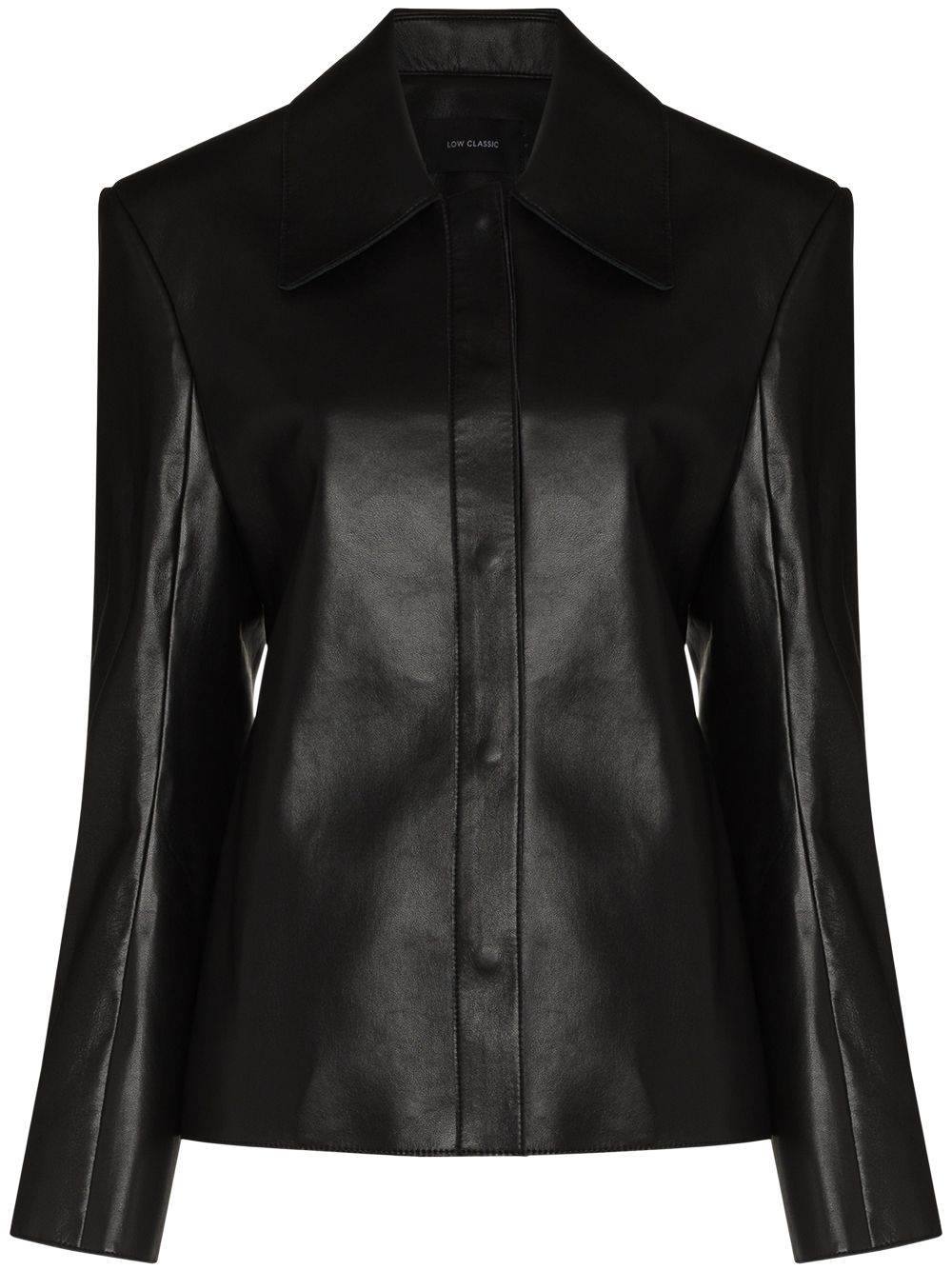 <p class='small-title'>LOW CLASSIC</p>Recycled Leather Shirt
