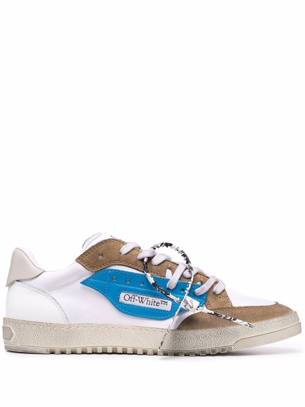 <p class='small-title'>OFF WHITE</p>Off-Court 5.0 Sneakers