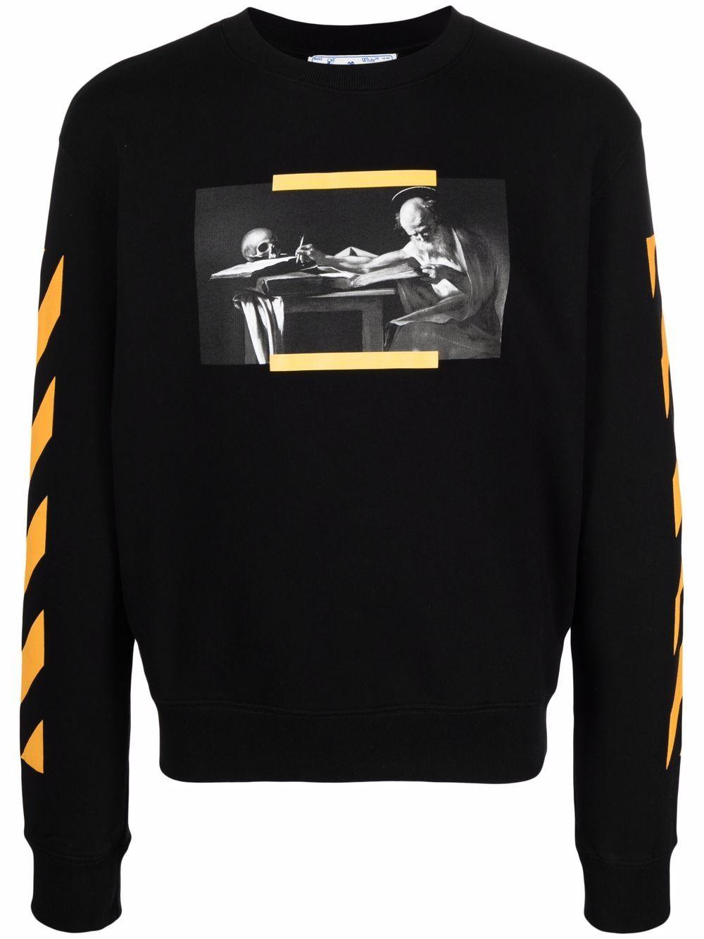 <p class='small-title'>OFF WHITE</p>Crewneck sweatshirt