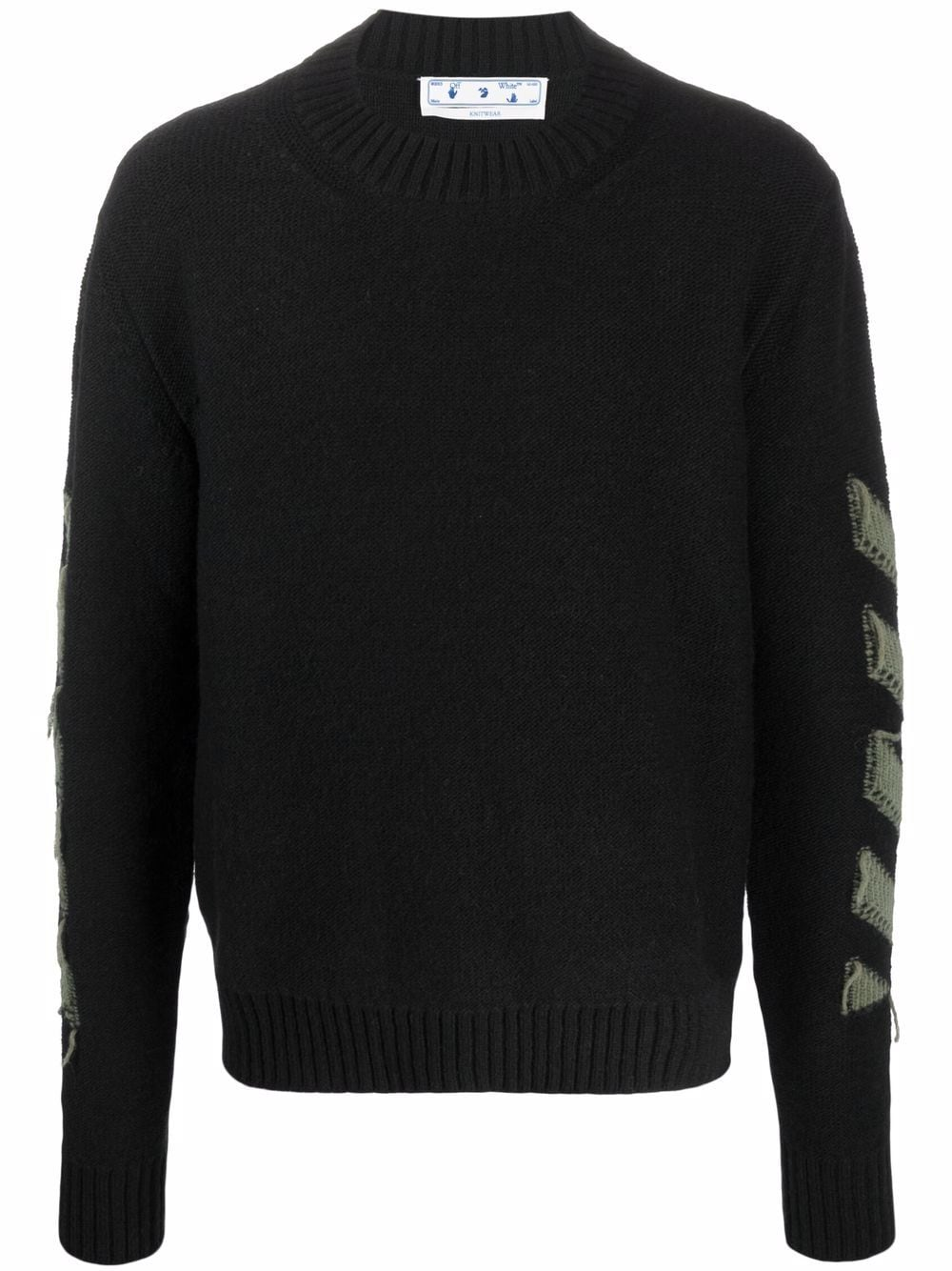 <p class='small-title'>OFF WHITE</p>Knitted Jumper