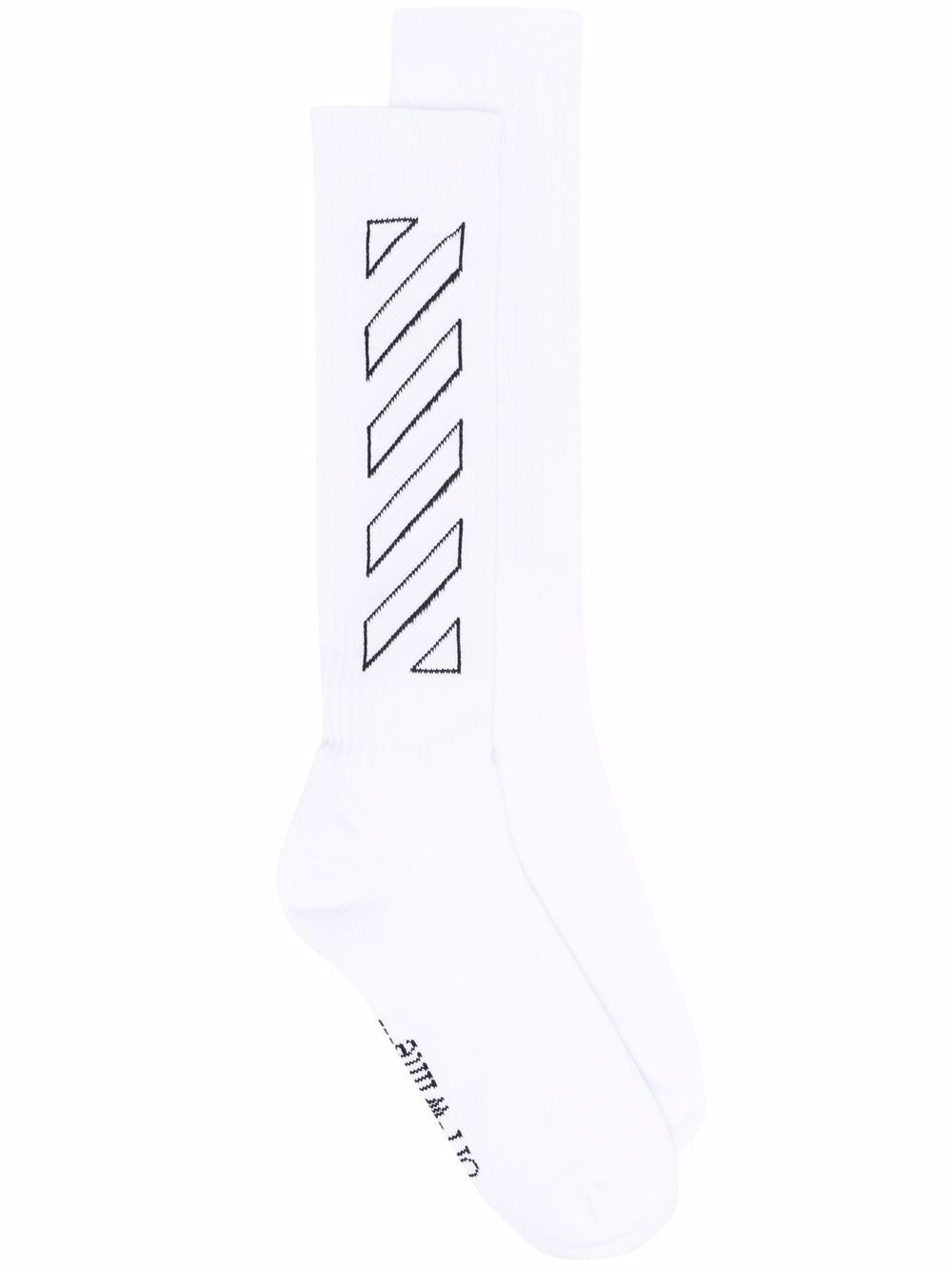 <p class='small-title'>OFF WHITE</p>Mid Length Socks