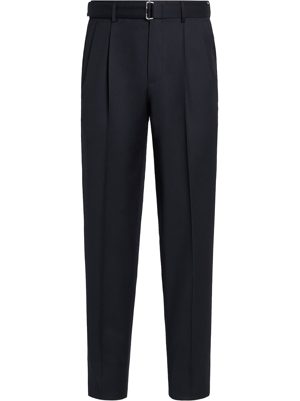 <p class='small-title'>Z ZEGNA</p>Tapered Wool Trousers