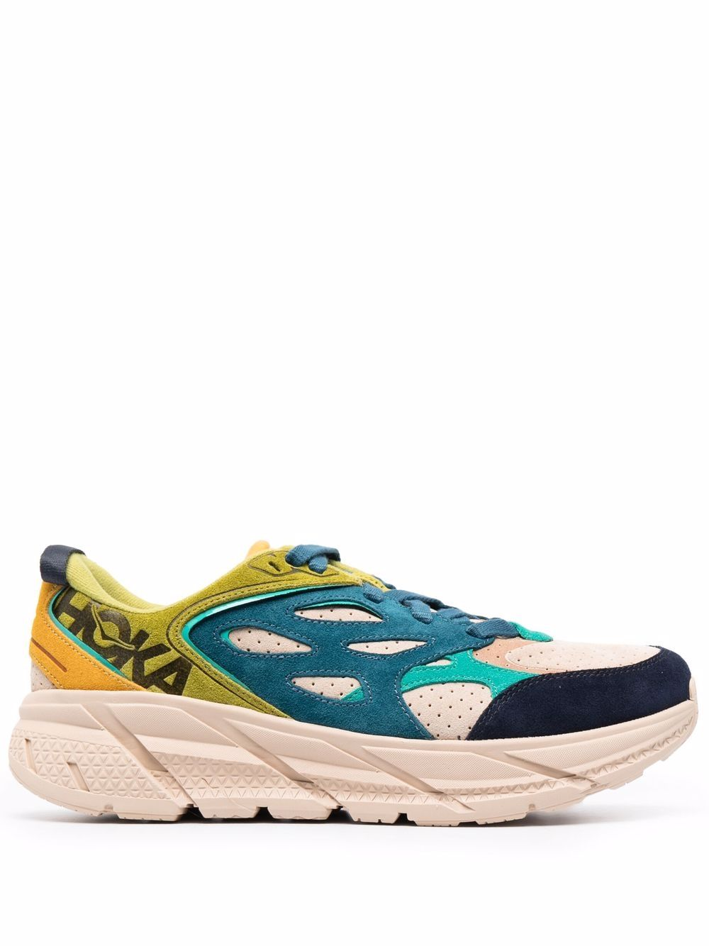 <p class='small-title'>HOKA ONE ONE</p>Clifton Suede-Panel