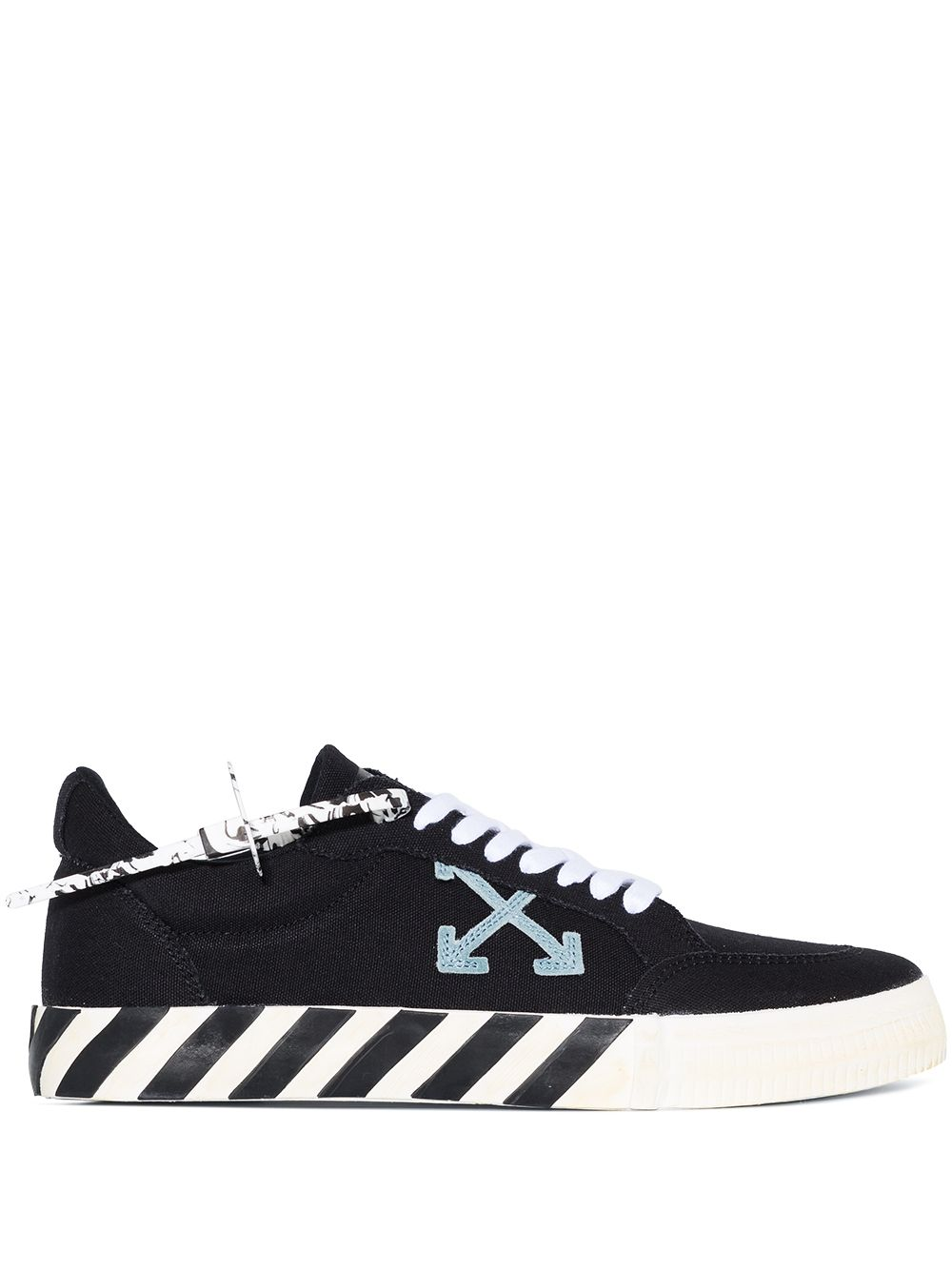 <p class='small-title'>OFF WHITE</p>Vulcanized Low Top Sneakers