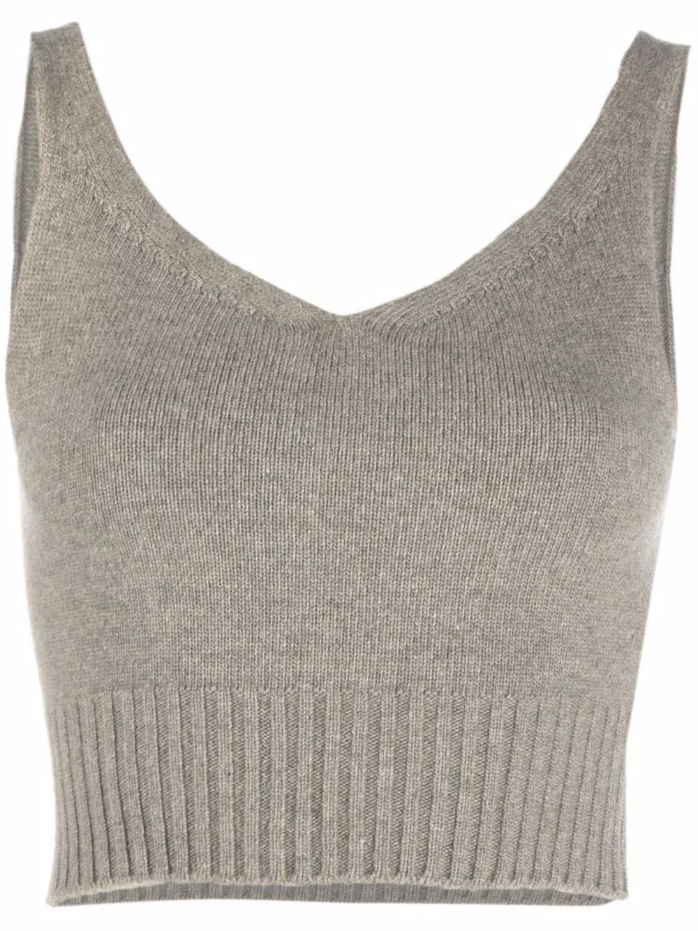<p class='small-title'>LOW CLASSIC</p>Cropped Knitted Top