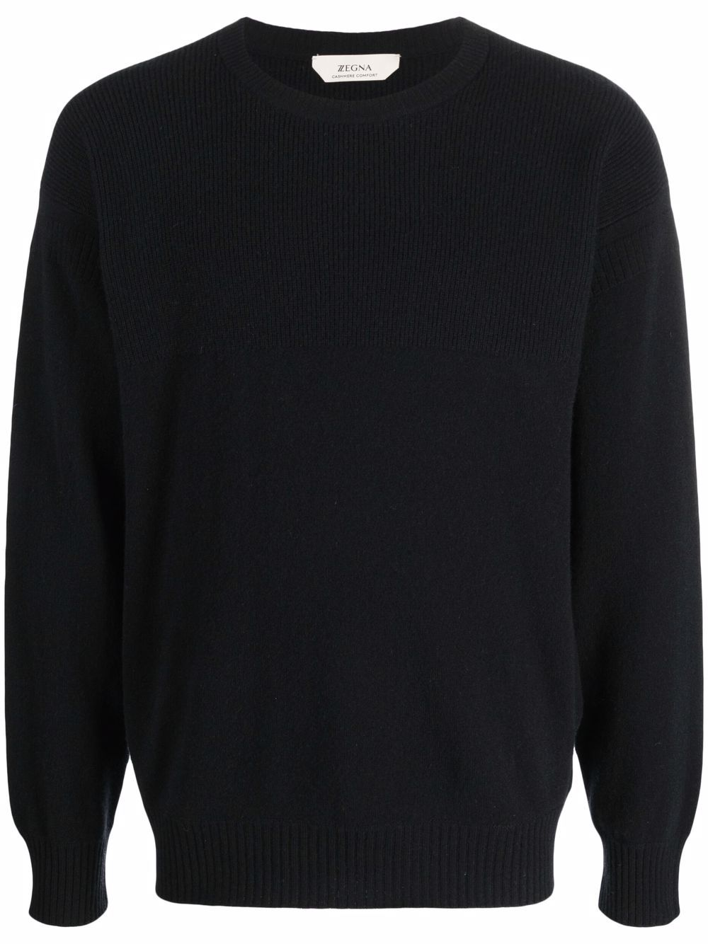 <p class='small-title'>Z ZEGNA</p>Ribbed Knit Jumper