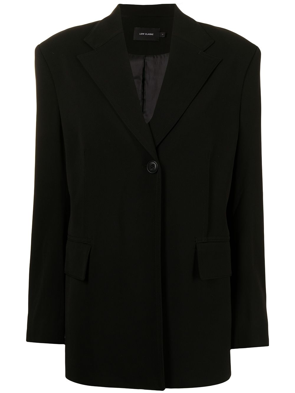 <p class='small-title'>LOW CLASSIC</p>Oversized Single Breasted Blazer