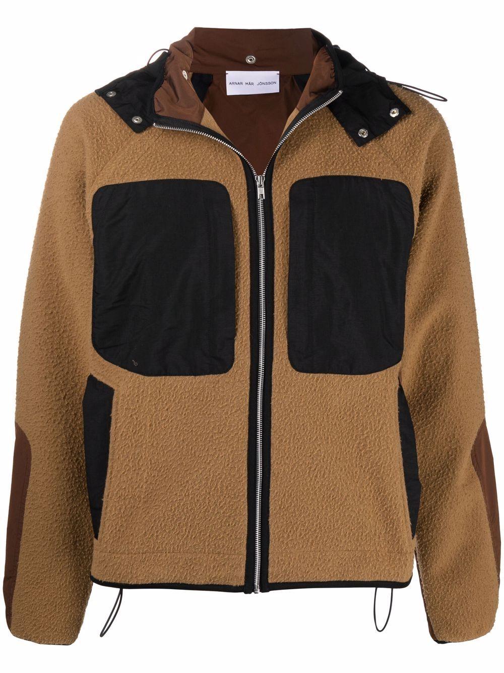 <p class='small-title'>ARNAR MAR JONSSON</p>Hooded Windbreaker Jacket