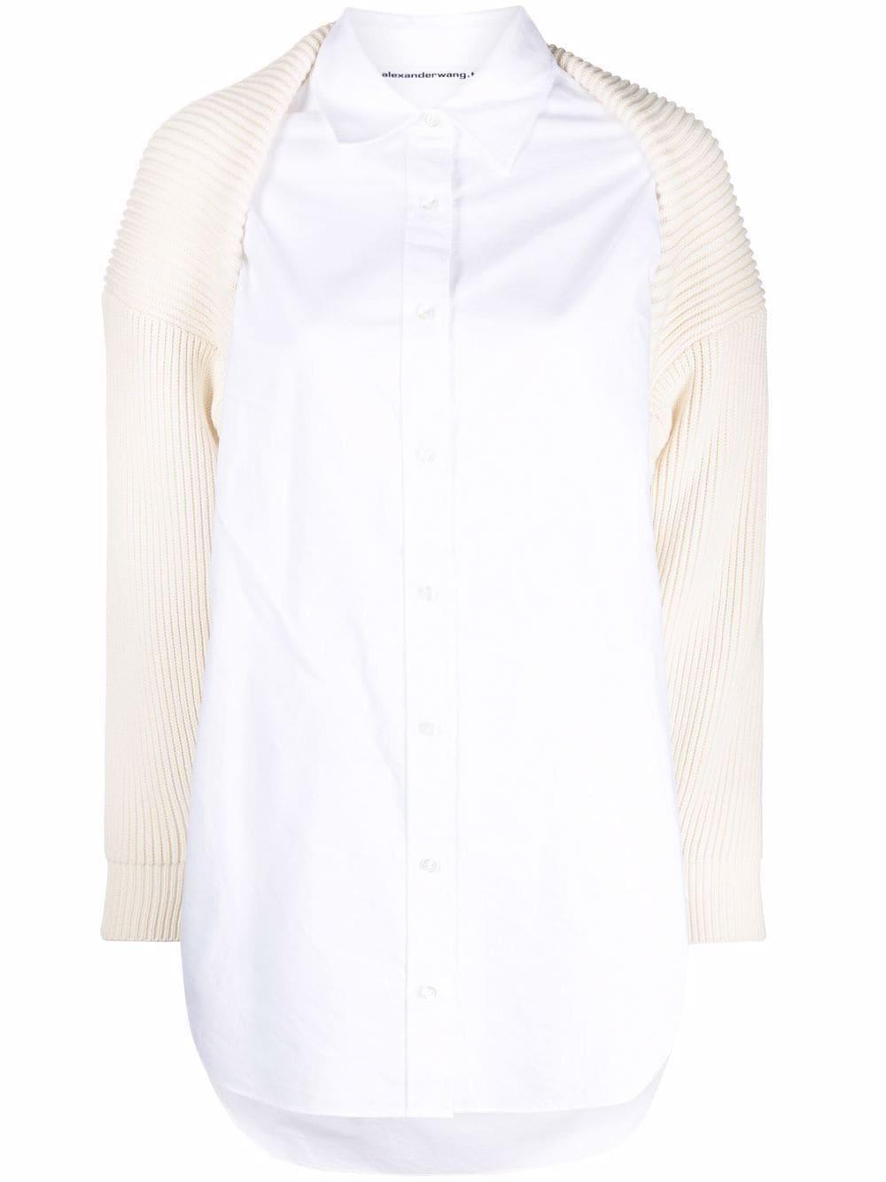 <p class='small-title'>ALEXANDER WANG</p>Double Layer Shirt