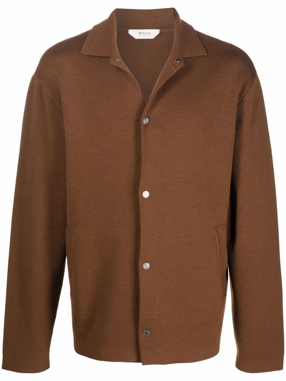 <p class='small-title'>Z ZEGNA</p>Shirt Jacket