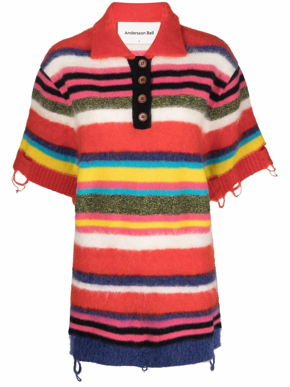 <p class='small-title'>ANDERSSON BELL</p>Wool Polo Top