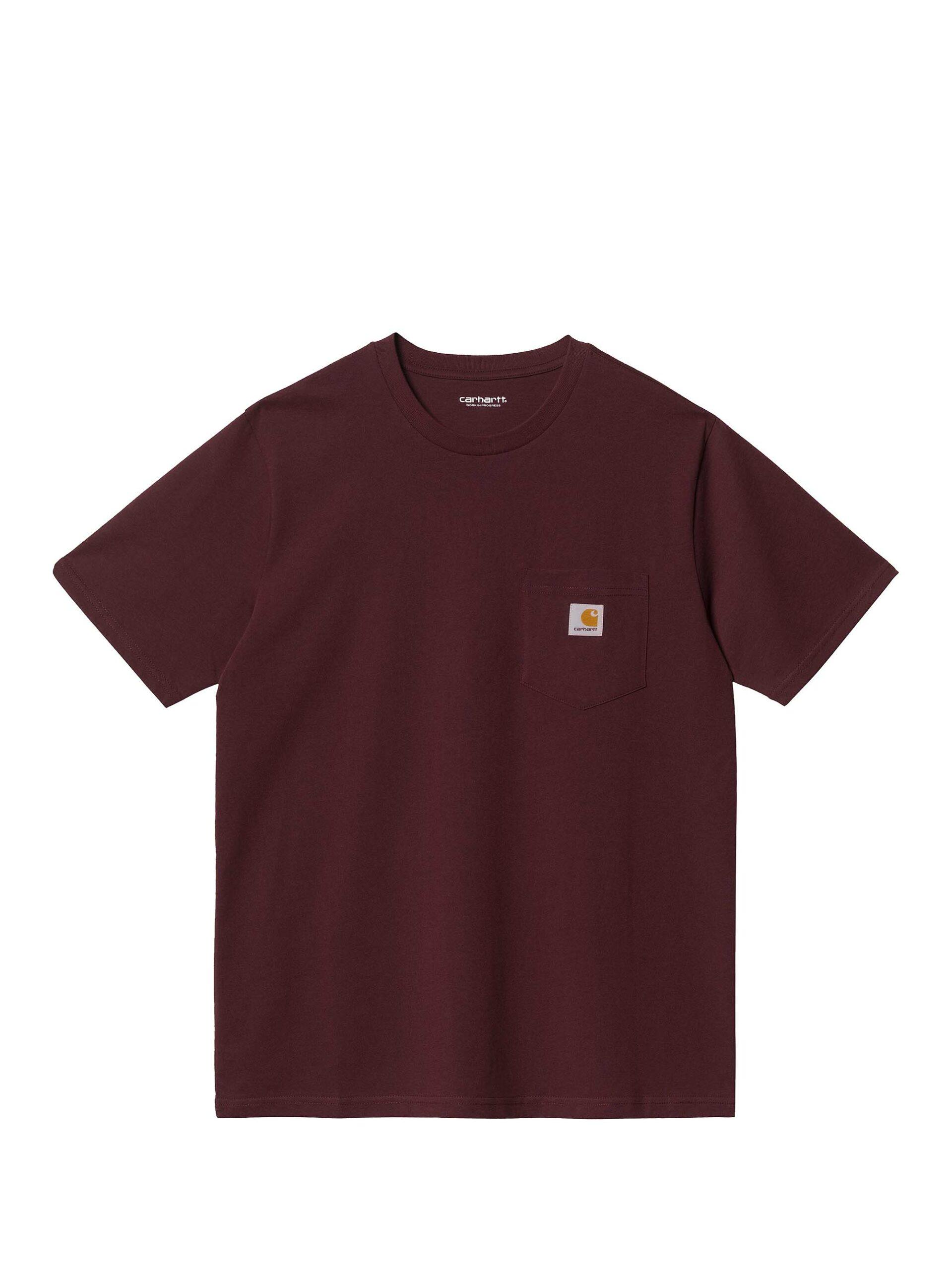 <p class='small-title'>CARHARTT WIP</p>S / S Pocket T-Shirt Brown
