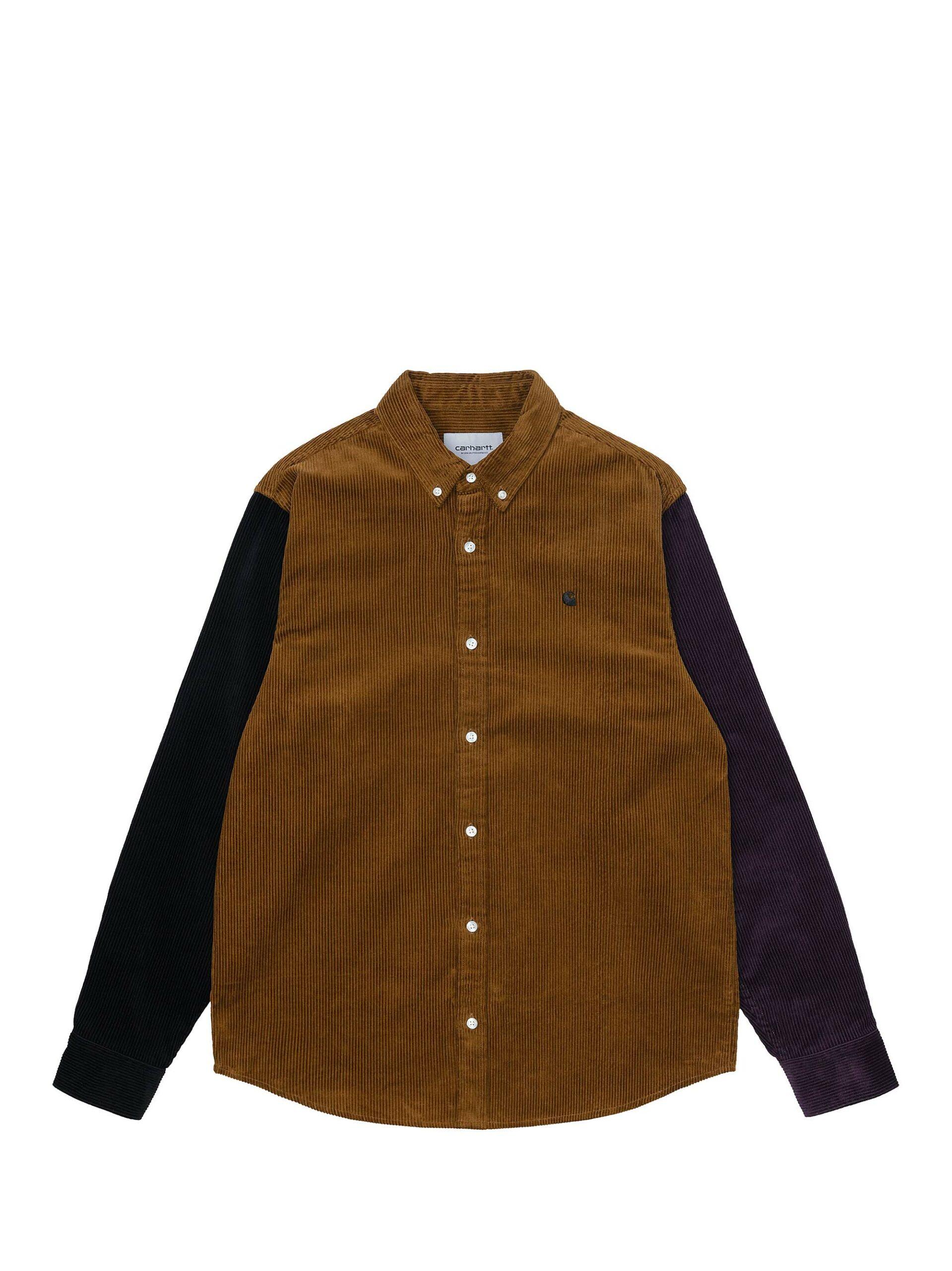 <p class='small-title'>CARHARTT WIP</p>L / S Triple Madison Cord Shirt