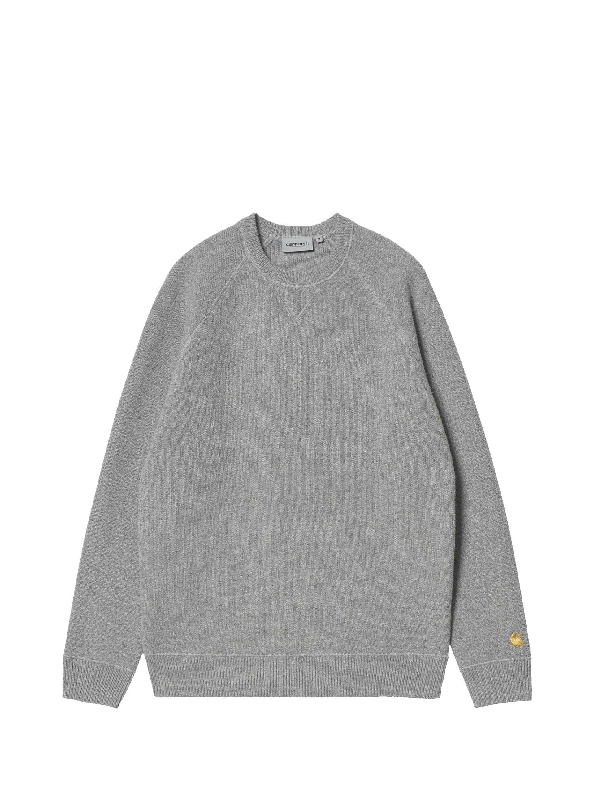 <p class='small-title'>CARHARTT WIP</p>Chase sweater Grey